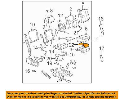 GM OEM Seat Heater-Element 20792749