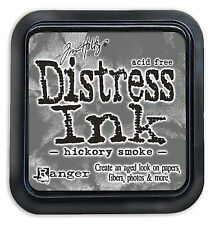 Tim Holtz Distress Ink Pad Full Size HICKORY SMOKE Grey, Charcoal, Smoke