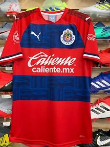 best service 49f6c 3dd65 Details about PUMA Chivas Away Jersey 19/20 Stadium Quality Size XL