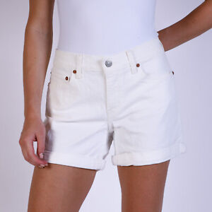 Levi-039-s-Weiss-Damen-Jean-Shorts-DE-38-US-W30