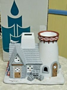 Large-Stoney-Harbor-Lighthouse-Party-Lite-Holder-IOB