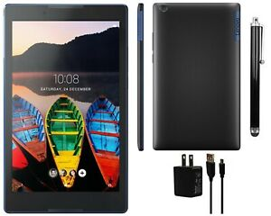 Lenovo-Tab-3-8-inch-16GB-Black-Wi-Fi-Only-Free-2-Day-Shipping-Bundle-Included