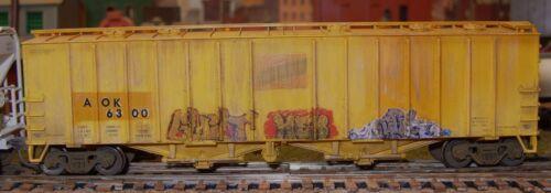 O SCALE GRAFFITI DECALS 0205 FROM REAL GRAFFITI UNIQUE