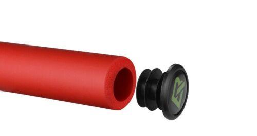 ROCKBROS 1 pair Bicycle Silicone Handlebar Grips Anti-skid Shock-absorbing Grips
