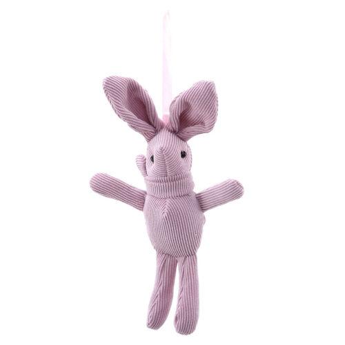 Corduroy Long Ears Bunny Rabbit Animals Plush Soft Doll Toys Kids Gifts LH