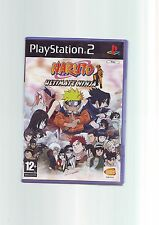 NARUTO ULTIMATE NINJA - SONY PS2 GAME / 60GB PS3 COMPATIBLE - FAST POST COMPLETE