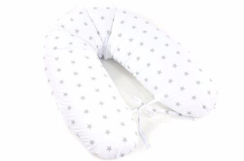 Stillkissen 170cm 100/% Baumwolle Schwangerschafts Lagerungskissen ekmTRADE W4