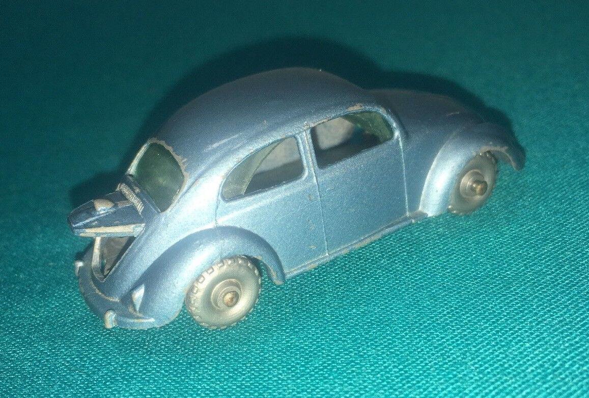 Matchbox lesney nr. 25 graue rad volkswagen - öffnung seitenfenster