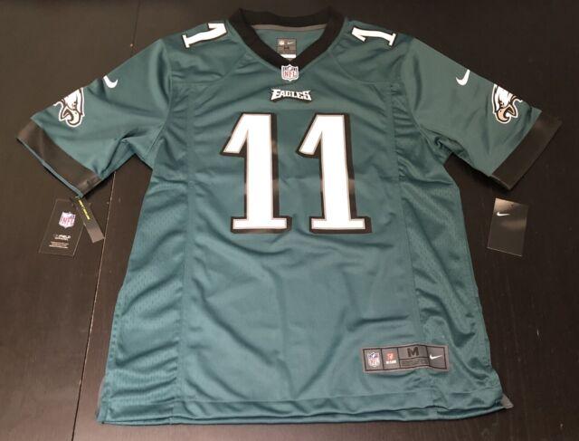 Nike Philadelphia Eagles Carson Wentz Men's Green Game Jersey $100