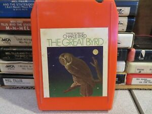 CHARLIE BYRD The Great Bird (8-Track Tape)