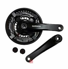 Shimano MTB FCTY501 MTB Alloy Chainset / Crankset 24/34/42 170mm Black