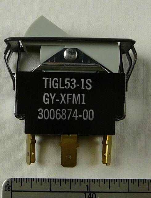 Carling Technologies 0013 Toggle Switch 10A-250 VAC 15A-125 Vac