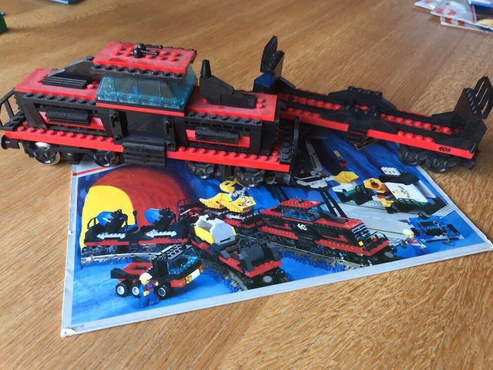 Lego 9V Eisenbahn 4565 Lok Güterlok + Wagon + 9V Motor und Bauanleitung