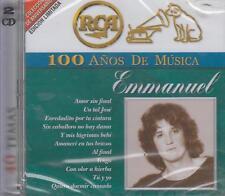 CD - Emmanuel NEW 100 Anos De Musica 2 CD's 40 Temas FAST SHIPPING !