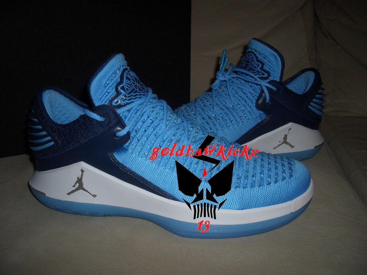 nike Jordan XXXII 32 Win Like 82 Blue UNC ​AA1256 401 North Carolina Tarheels