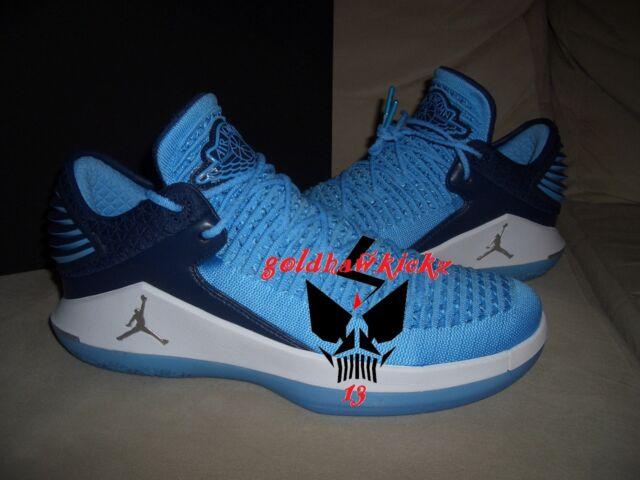 0d2572073651f1 nike Jordan XXXII 32 Win Like 82 Blue UNC AA1256 401 North Carolina Tarheels