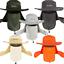Ala-Boonie-Gorra-de-Sol-Pesca-al-Aire-Libre-de-secado-rapido-escalada-sombrero-del-cubo miniatura 3
