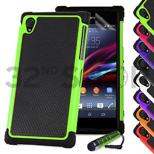 competitive price 44083 decb2 Details about SHOCK PROOF CASE COVER FOR Sony Xperia Z1 / Z Ultra / Z / Z2  SCREEN PROTECTOR