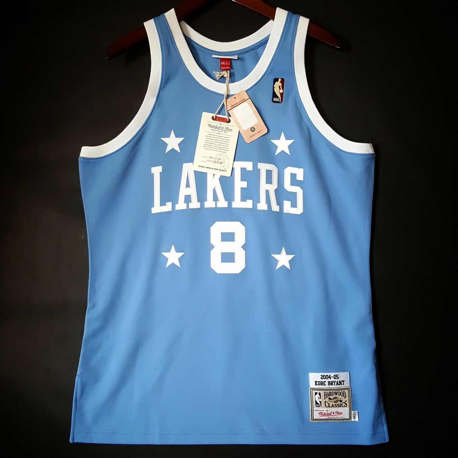 100% Authentisch Kobe Bryant Mitchell & Ness 04 05 Lakers Lakers Lakers NBA Trikot Größe 44 L 1a22d5