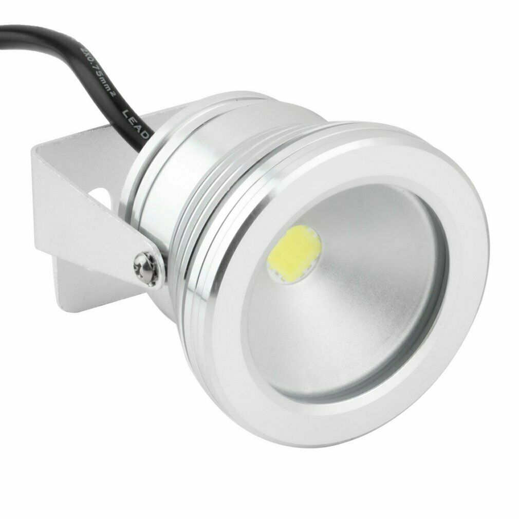 1//2//4//8pc LED RGB Unterwasser strahler 10W Spot Licht Garten Brunnen Teich Lampe