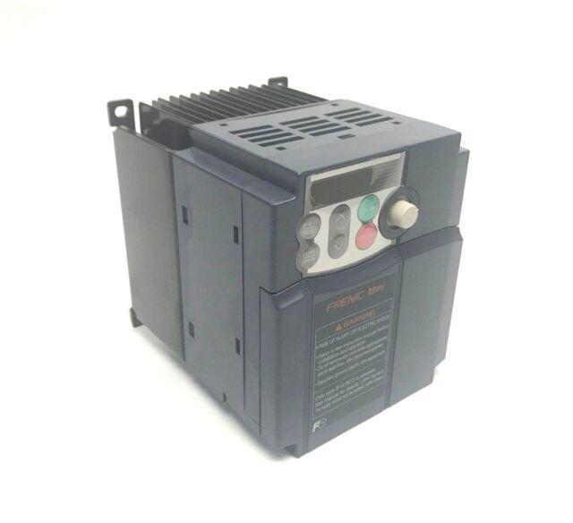 Fuji Electric FRENIC-Multi VFD FRN001E1S-4U 1HP 3PH 380-480VAC