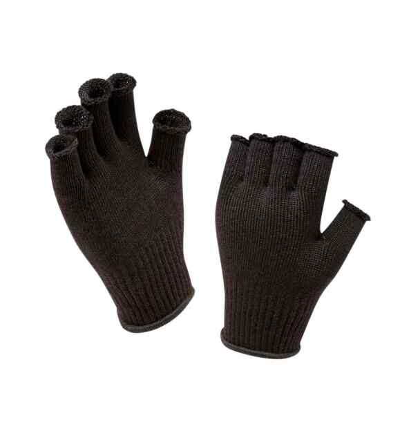 Merino Wool Fingerless Glove Suitable to be Worn as a Bas SEALSKINZ Lightweight