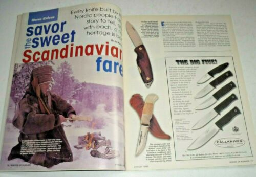 Blade Magazine Presents KNIVES OF EUROPE Annual 2000 NOS