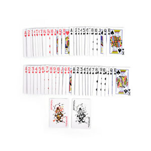 1-Deck-Magic-Trick-Playing-Cards-Svengali-Stripper-Marked-Taper-Poker-HFL-Y