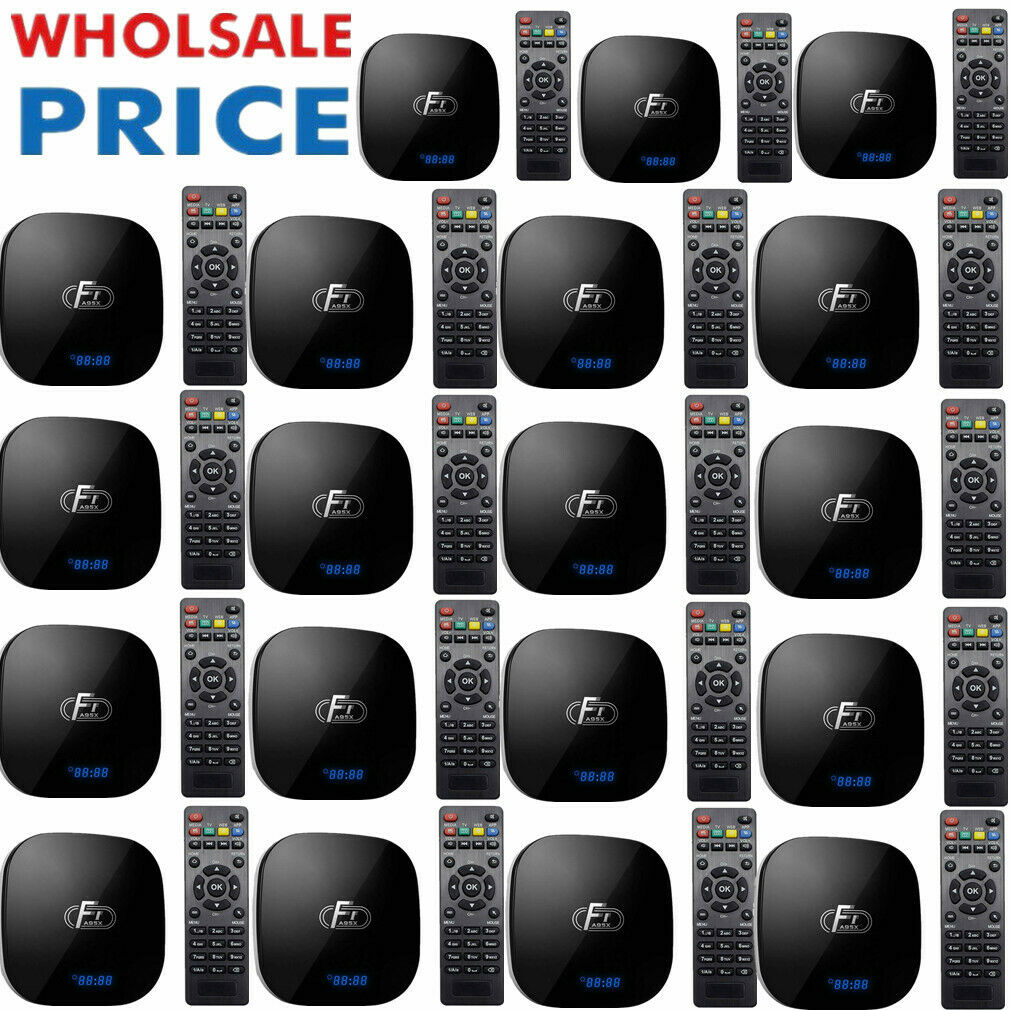 LOT A95X F1 Android8.1 TV Box S905W 4-Core VP9 H.265 16GB WiFi Media Player O8A2 Featured