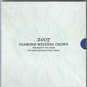 2007-Elizabeth-II-amp-Prince-Philip-Diamond-Wedding-5-Coin-Pack-KM-Coins