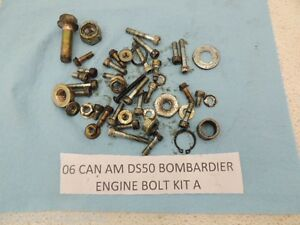 06 can am ds50 ds 50 canam bombardier engine bolts kit. Black Bedroom Furniture Sets. Home Design Ideas
