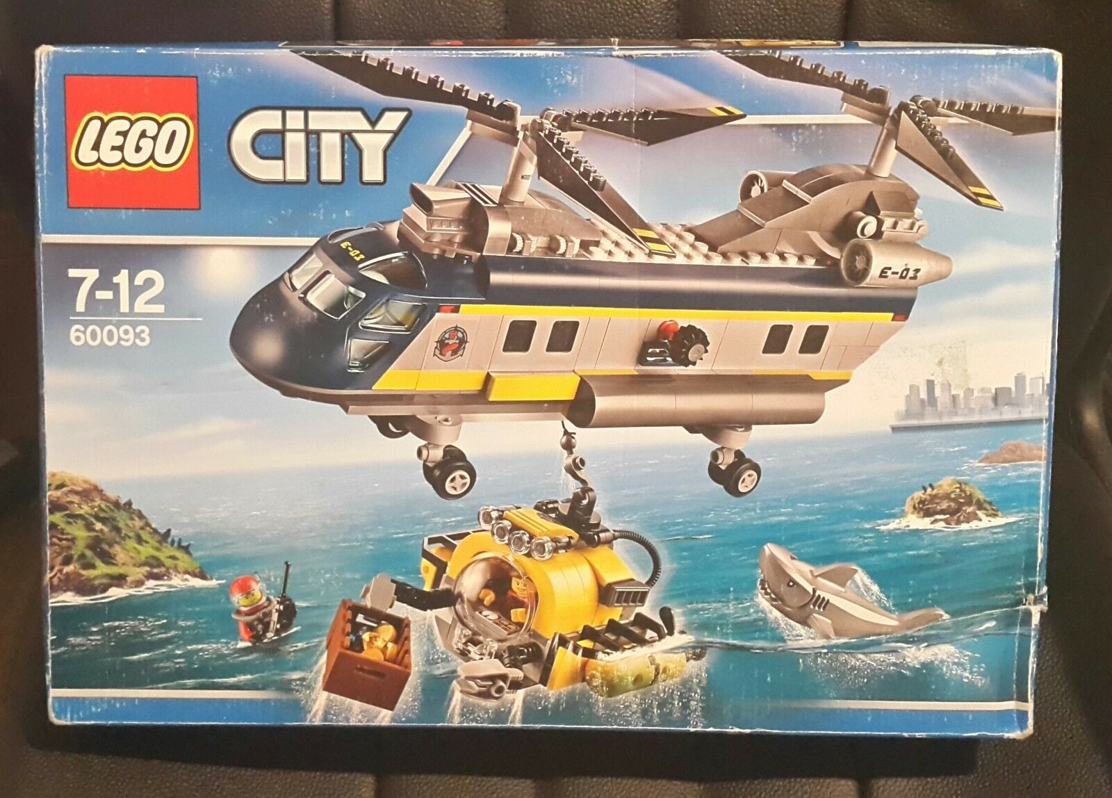 LEGO 60093 City Explorers Deep Sea Helicopter - New & Sealed - Imperfect Box
