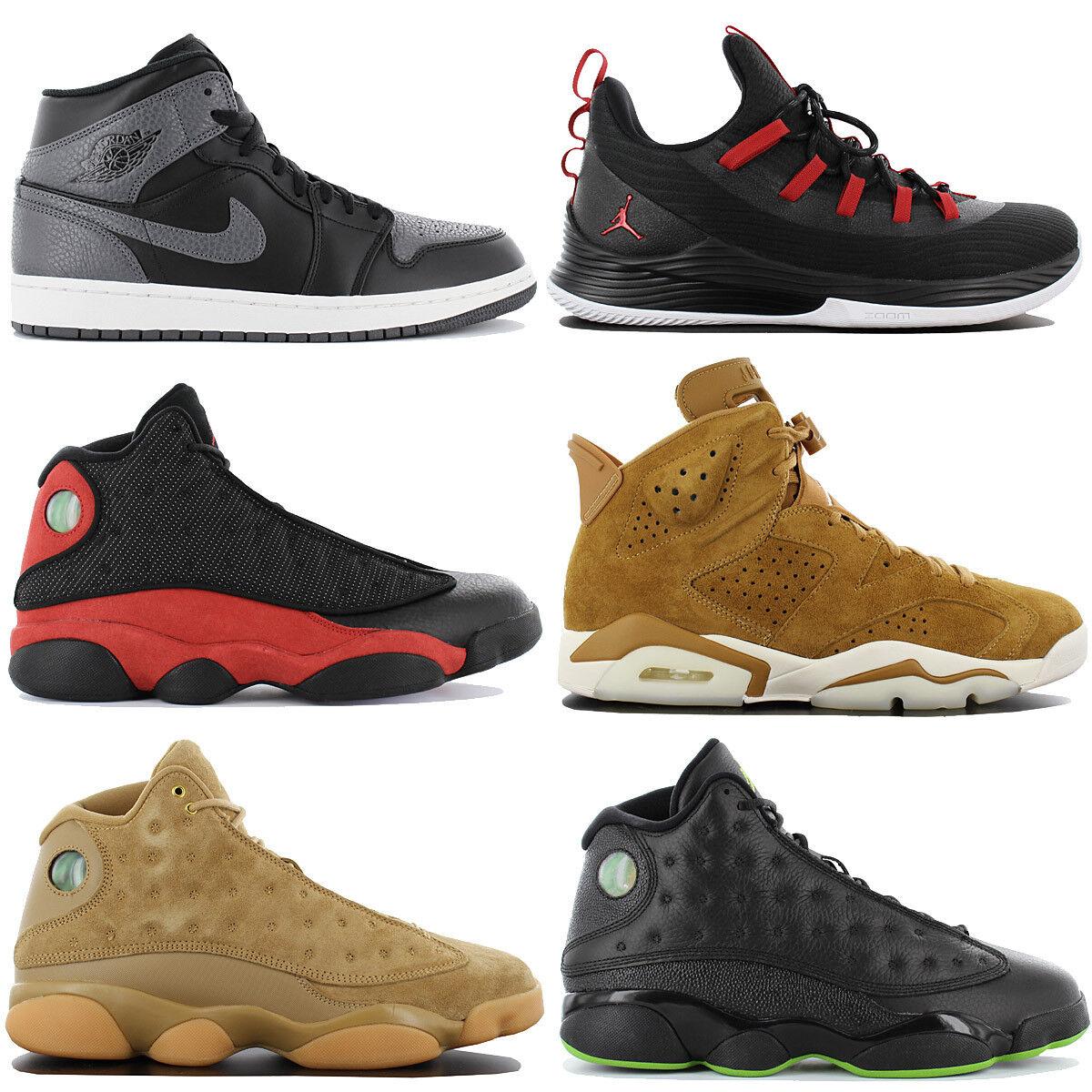 check out 5253f c9927 Air Jordan Uomo Scarpe scarpe scarpe scarpe da ginnastica Scarpe da  ginnastica Nike Scarpe da pallacanestro 1 6 13 NUOVO 3cb452