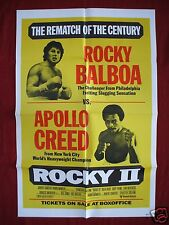 ROCKY II 2 * 1979 ORIGINAL MOVIE POSTER 1SH RARE BOX OFFICE REMATCH STYLE NM-M