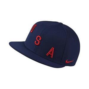 38cbf7d51f8 Nike United States USA 2017 - 2018 Soccer Flat Brim Adjustable Hat ...