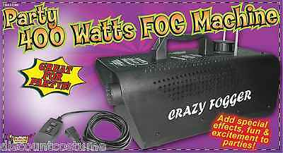 DELUXE PARTY 400 WATTS CRAZY FOGGER FOG MACHINE HALLOWEEN DECORATION ACCESSORY