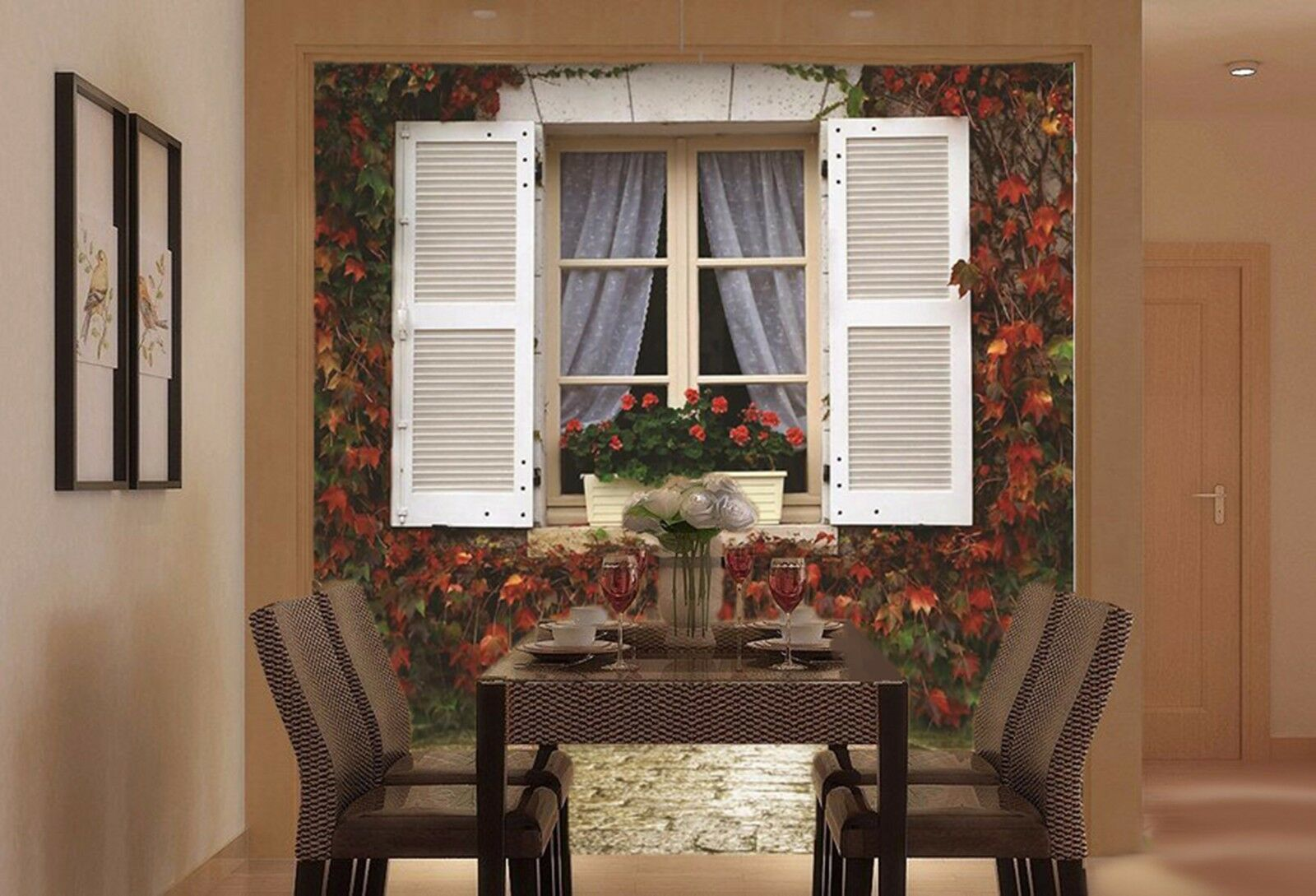 3D 3D 3D Fenster der Wand 735 Wandbild Fototapete Bild Tapete Familie Kinder DE Lemon | Heißer Verkauf  4376a0