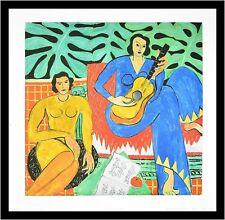 80x60cm #41270 Blauer Akt Poster Kunstdruck Henri Matisse