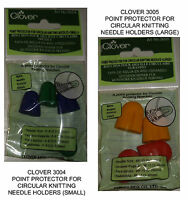 Clover Circular Point Protectors Your Choice Knitting Needle Protectors
