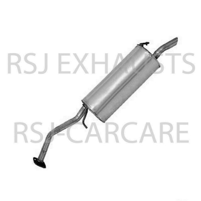 Fits Peugeot 207 1.6 16V Genuine EEC Exhaust Pipe Back Box Rear End Silencer