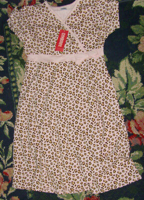 NWT Gymboree leopard print short sleeve dress /& leggings girls outfit size 5
