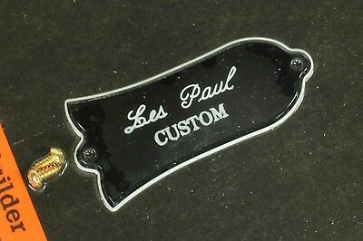 Genuine Gibson Les Paul CUSTOM Truss Rod Cover 2ply New