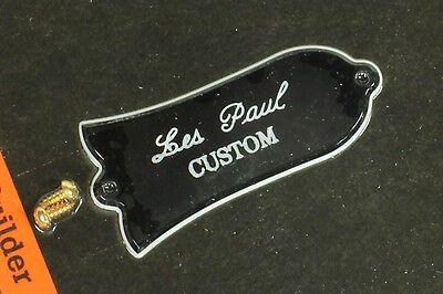 Genuine Gibson Les Paul CUSTOM Truss Rod Cover 2ply New
