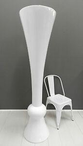 Vaso gigante bianco di design in resina moderno arredo casa arredo ...
