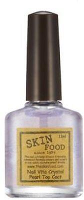 [Skin Food] Nail Vita Crystal Pearl Top Coat