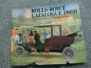 Rolls-Royce-Catalogue-1910-11-by-Rh-Value-Publishing-Outlet-Hardback-1988