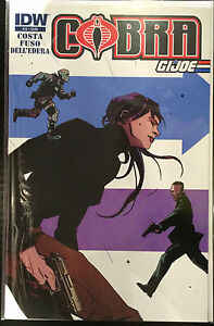 Cobra-Vol-2-15-NM-1st-Print-IDW-Comics-G-I-Joe