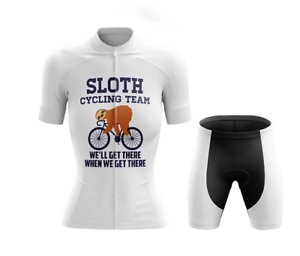 Woman Sloth Cycling Team Novelty Cycling Kit