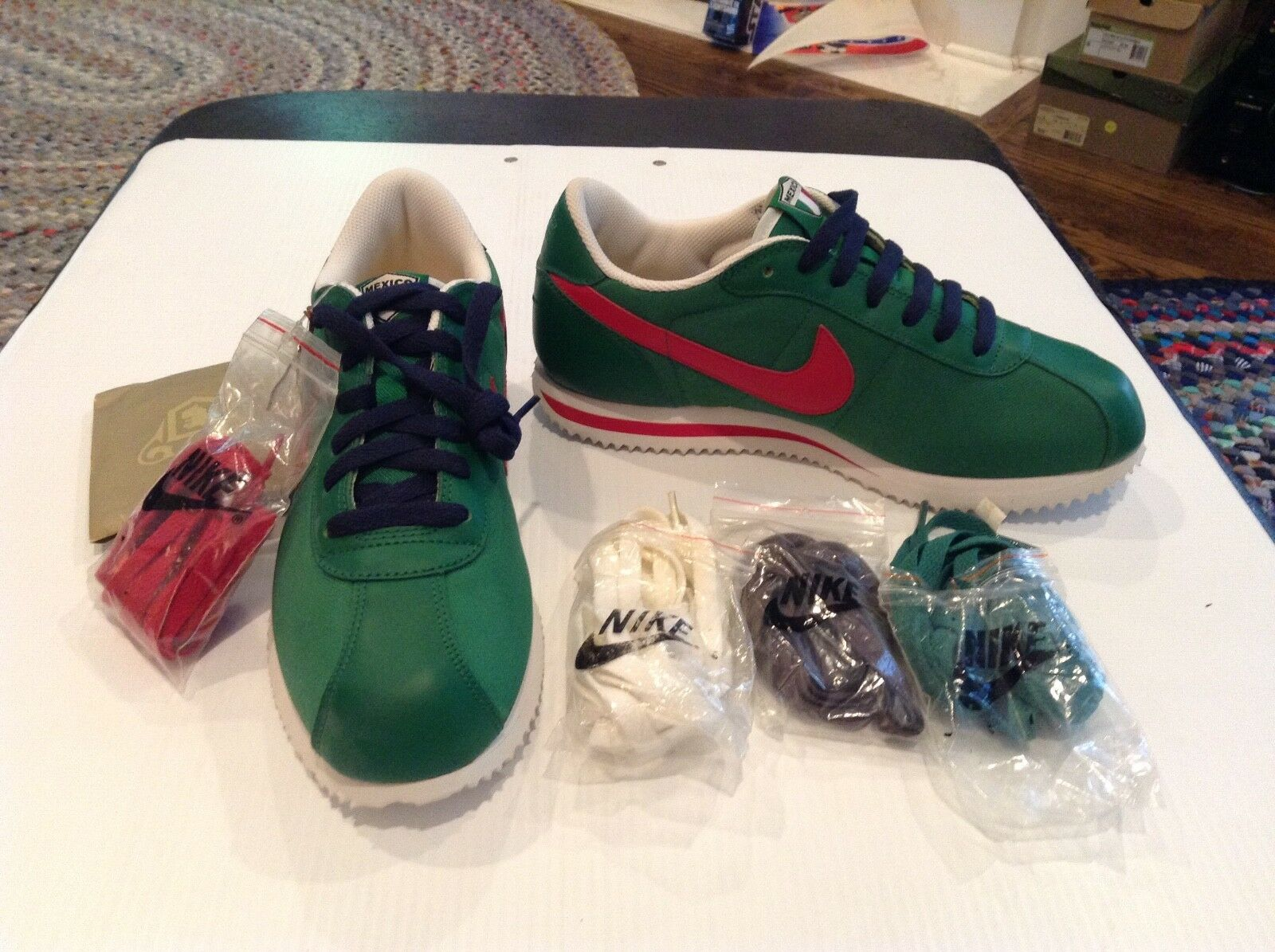 RARE NWT Mens Nike FIFA World Cup Mexico Cortez shoes 310668-361 SZ 8 Cool