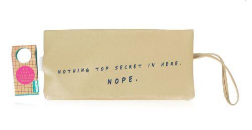Secret Hip FLask Clutch Bag NPW Gift Festival Concert HandBag